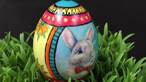 """""""Lil' Bunny"""" by Patty Rae Wellborn"""