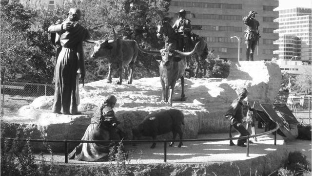 Dedication of the Tejano Monument in Austin.