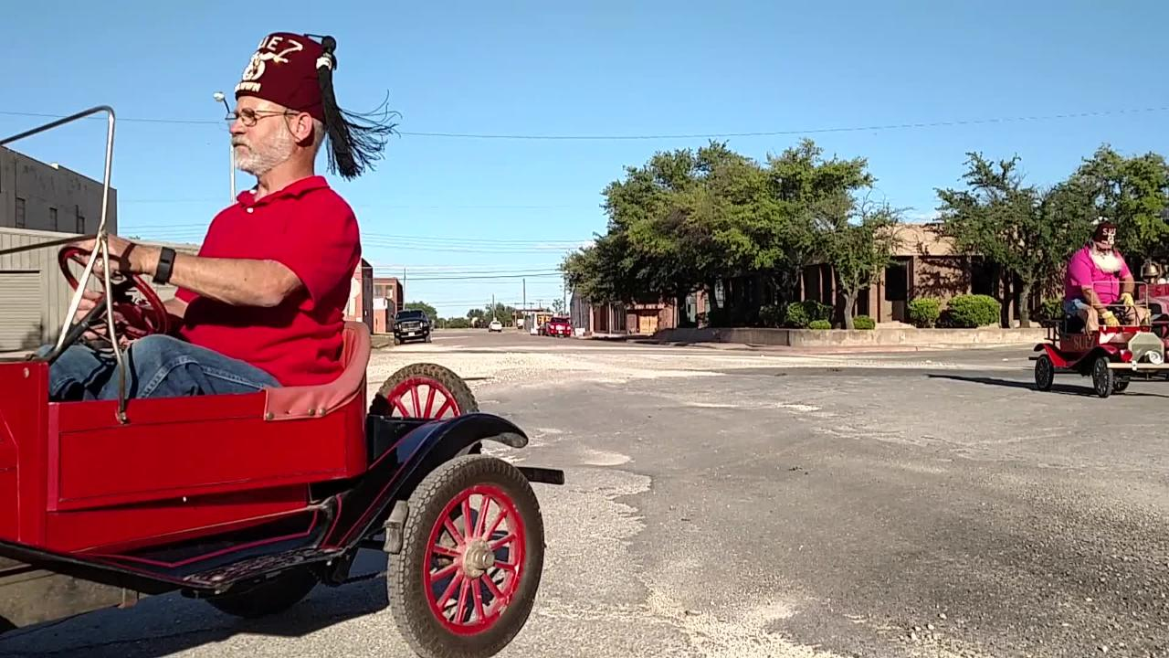 Check out the funny cars and their drivers, as members of various shrine clubs across the Big Country take part in the 2017 Western Heritage Classic parade in Abilene Thursday.
