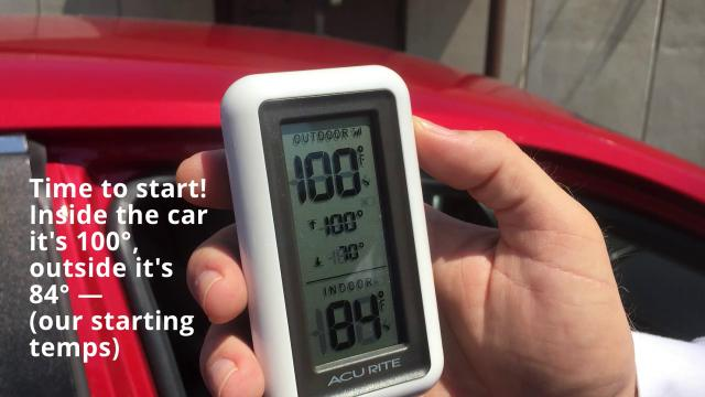 Buck the doggo demonstrates how hot, how fast, and how dangerous it can get in a parked vehicle. It's really, really hot. Hot enough to cook steak!
