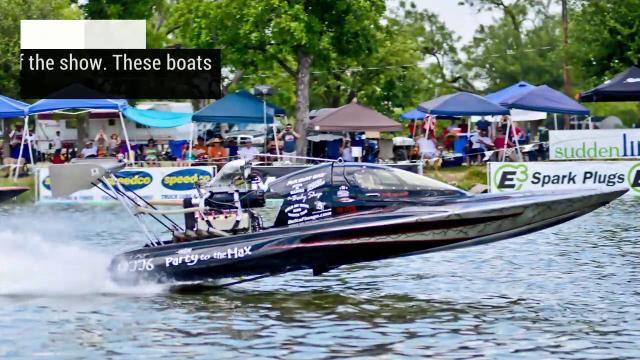 A look at some of the classes and types of boats that race in the Craig Partusch Memorial Showdown in San Angelo on Lake Nasworthy.