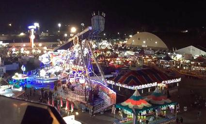 First night of the Ventura County Fair