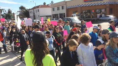 Thousands of people joined March for Justice in downtown Ventura a year ago.