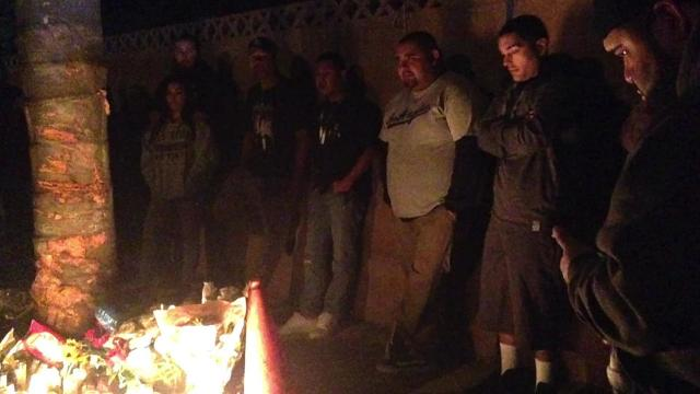 Video: Mourners remember Oxnard crash victims
