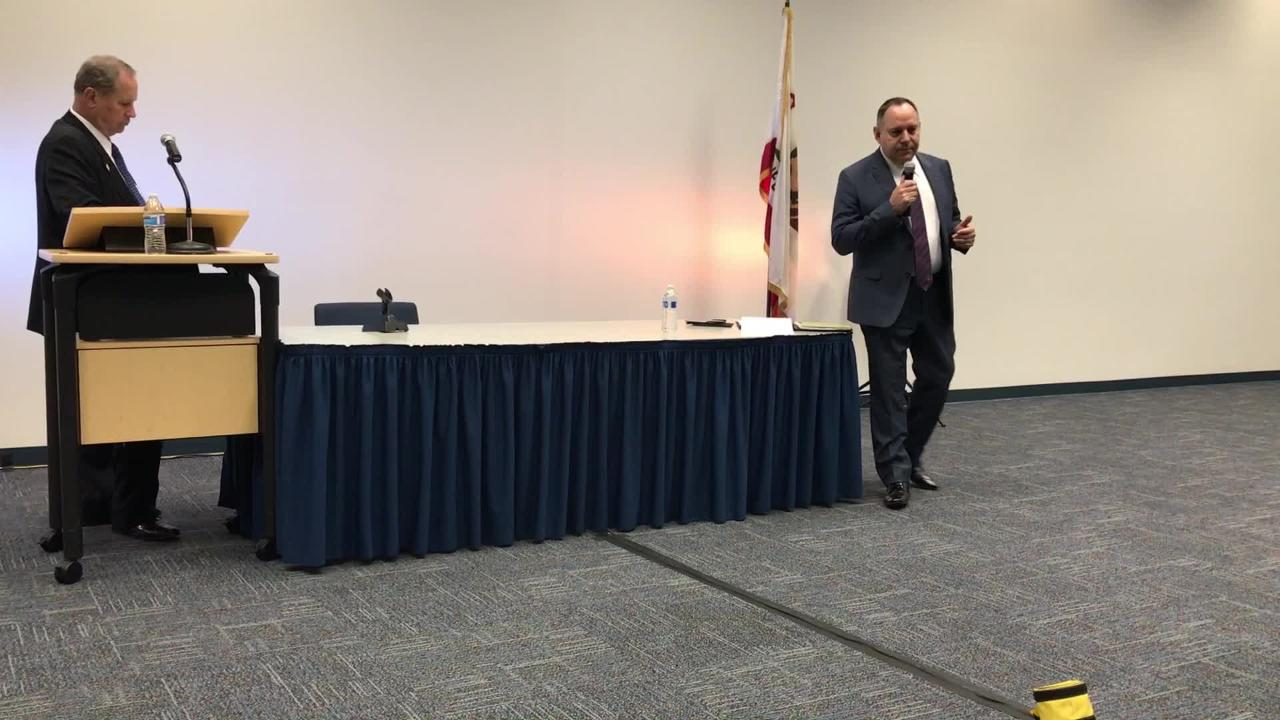 Video: Chancellor candidate Arturo Reyes