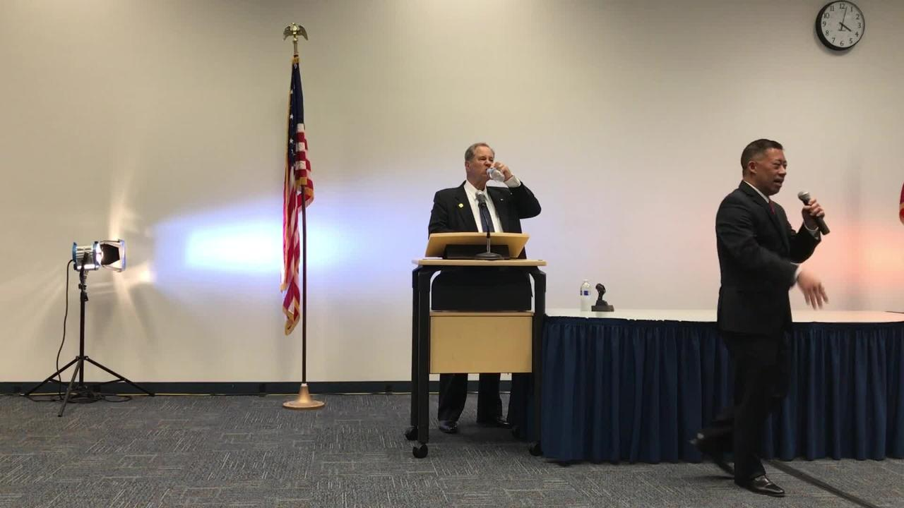 Video: Chancellor candidate Otto Lee