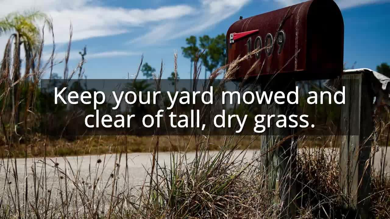 Video: 10 tips for protecting your home from brush fires