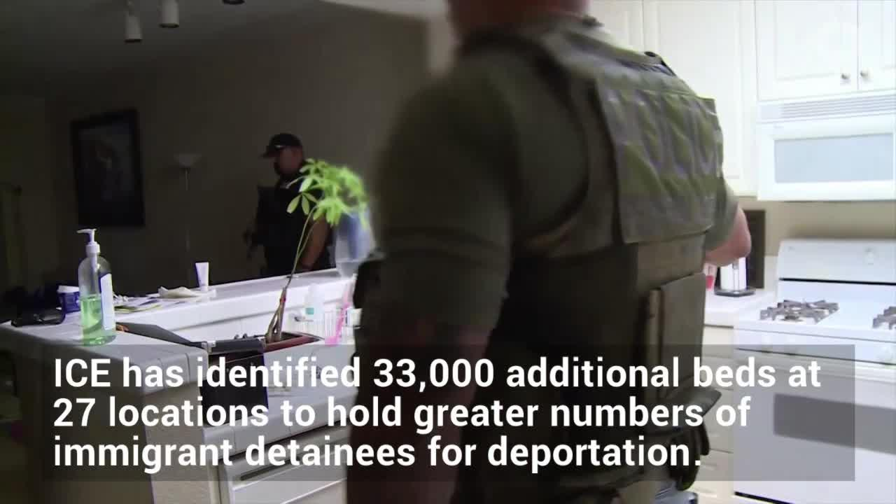 Video: More beds sought for detained immigrants
